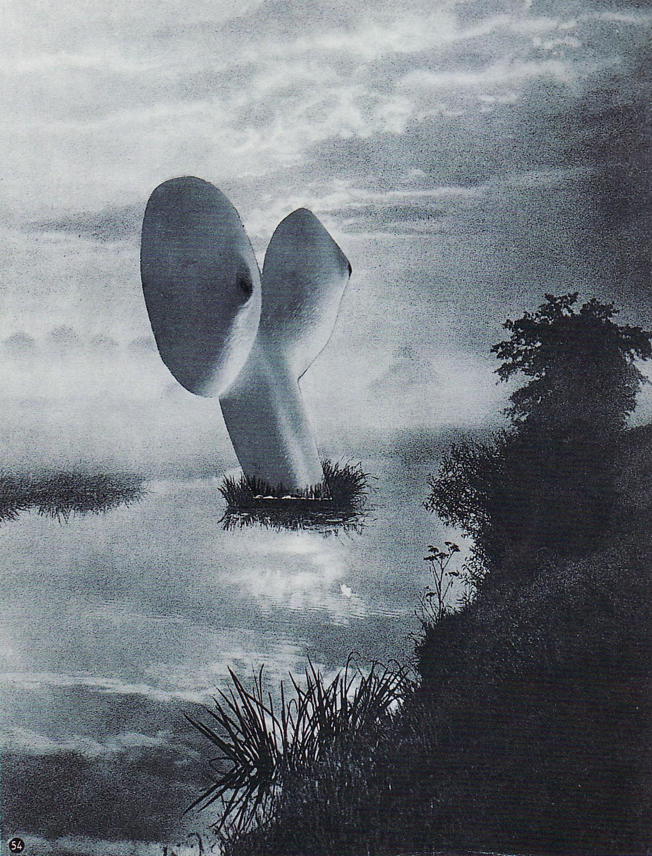 Karel Teige- Collage# 371, 1951.(c) Nachlass Karel Teige