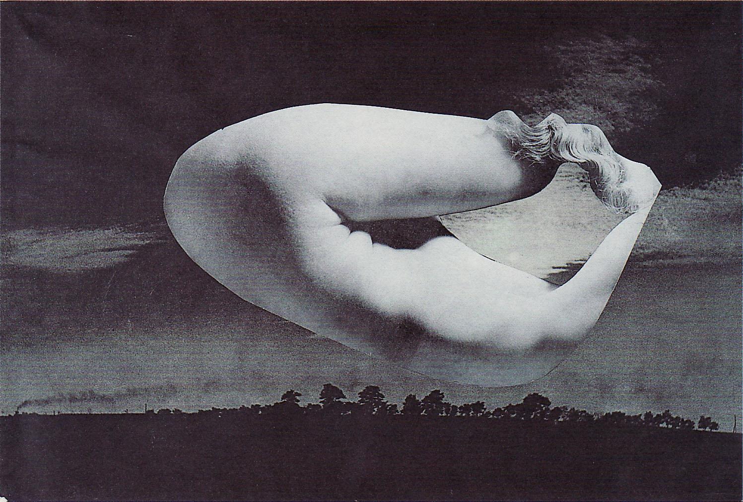 Karel Teige- Collage# 373, 1951.(c) Nachlass Karel Teige