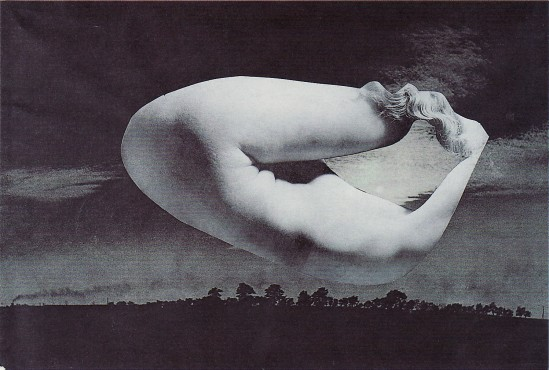 Karel Teige- Collage# 373, 1951.(c) Nachlass Karel Teige