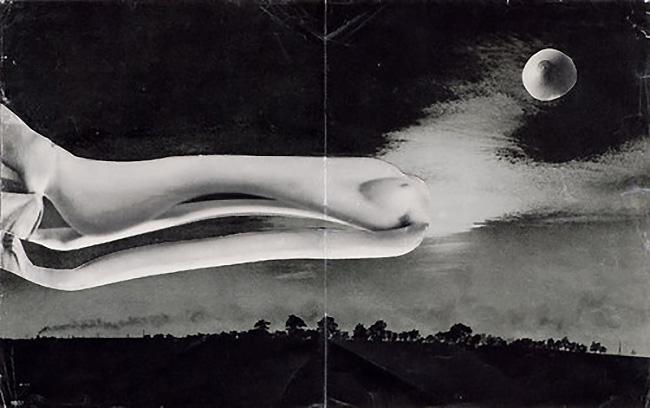 Karel Teige - Collage #374, 1951 . (c) Nachlass Karel Teige