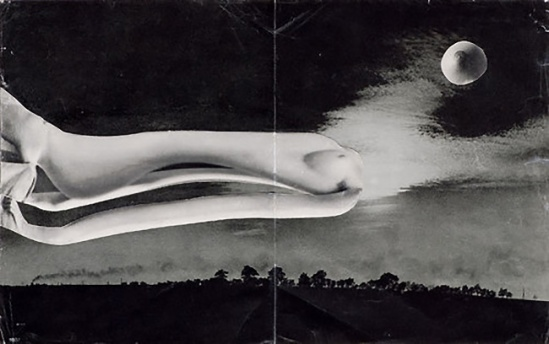 Karel Teige - Collage #374, 1951 . (c) Nachlass Karel Teige