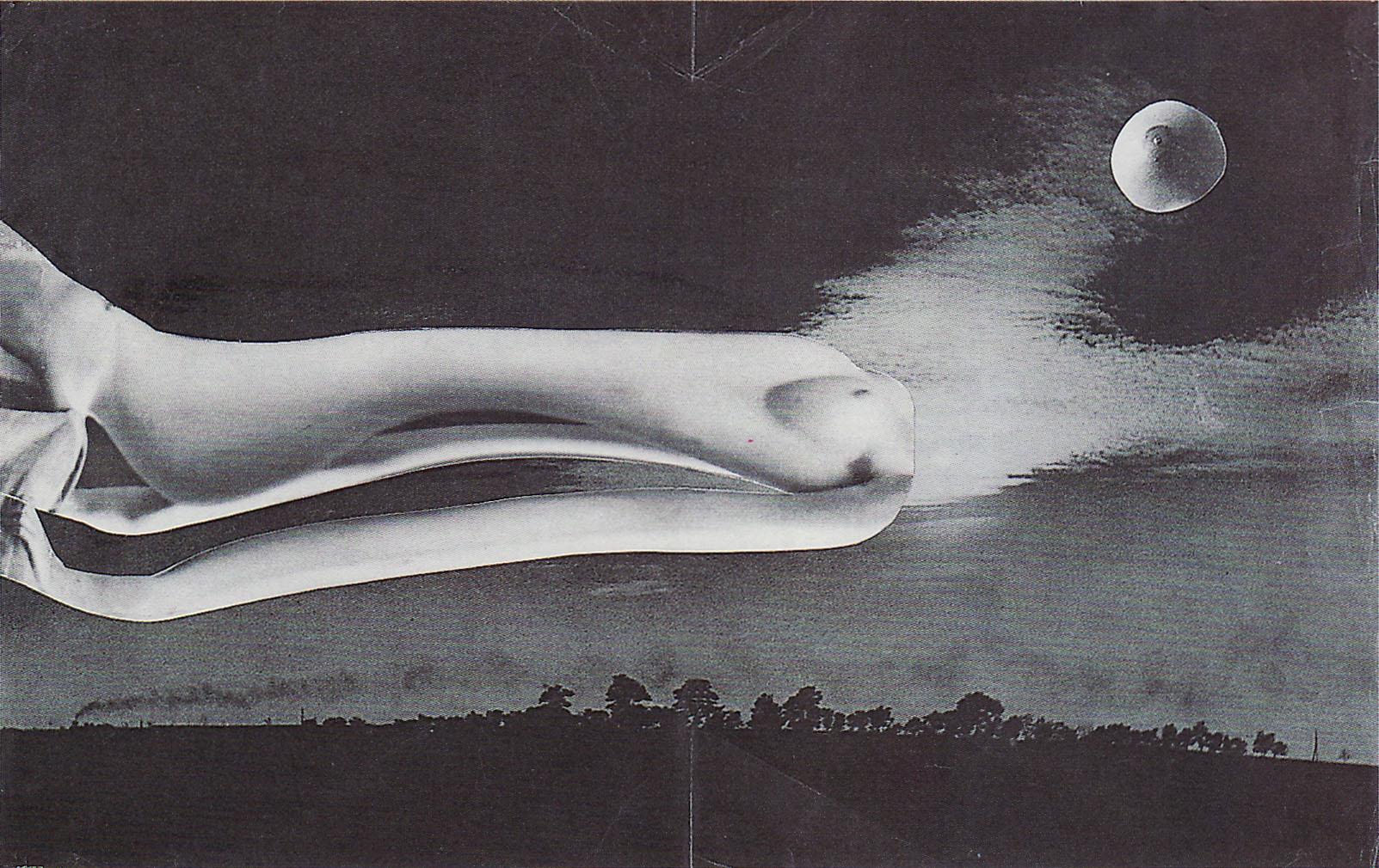 Karel Teige- Collage# 374, 1951(c) Nachlass Karel Teige