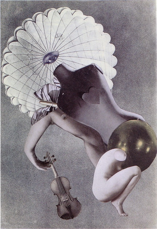 Karel Teige- Collage# 40, 1937