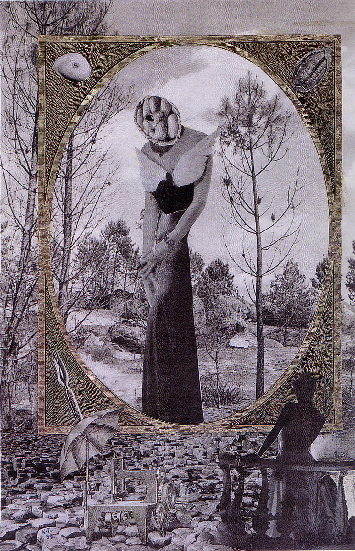 Karel Teige- Collage# 73,1939 (c) Nachlass Karel Teige
