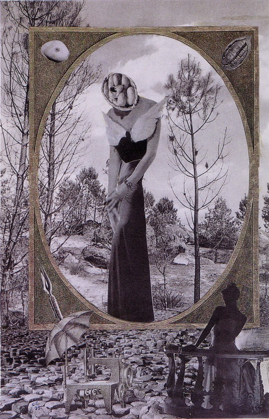 Karel Teige- Collage# 73,1939 (c) Nachlass Karel Teige