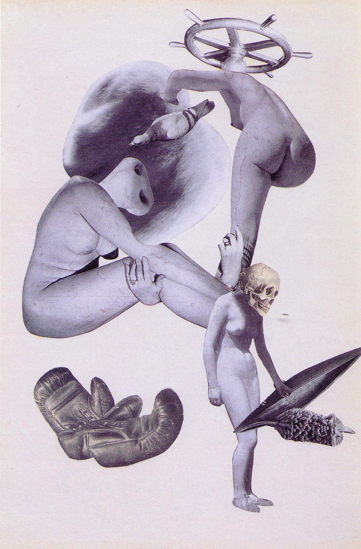 Karel Teige-Collage #88, 1939 (c) Nachlass Karel Teige