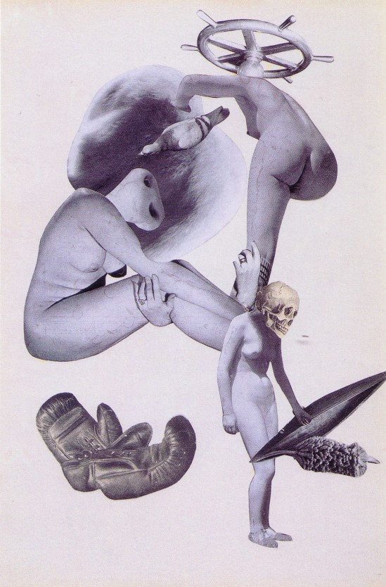 Karel Teige-Collage #88, 1939 (c) Nachlass Karel Teige