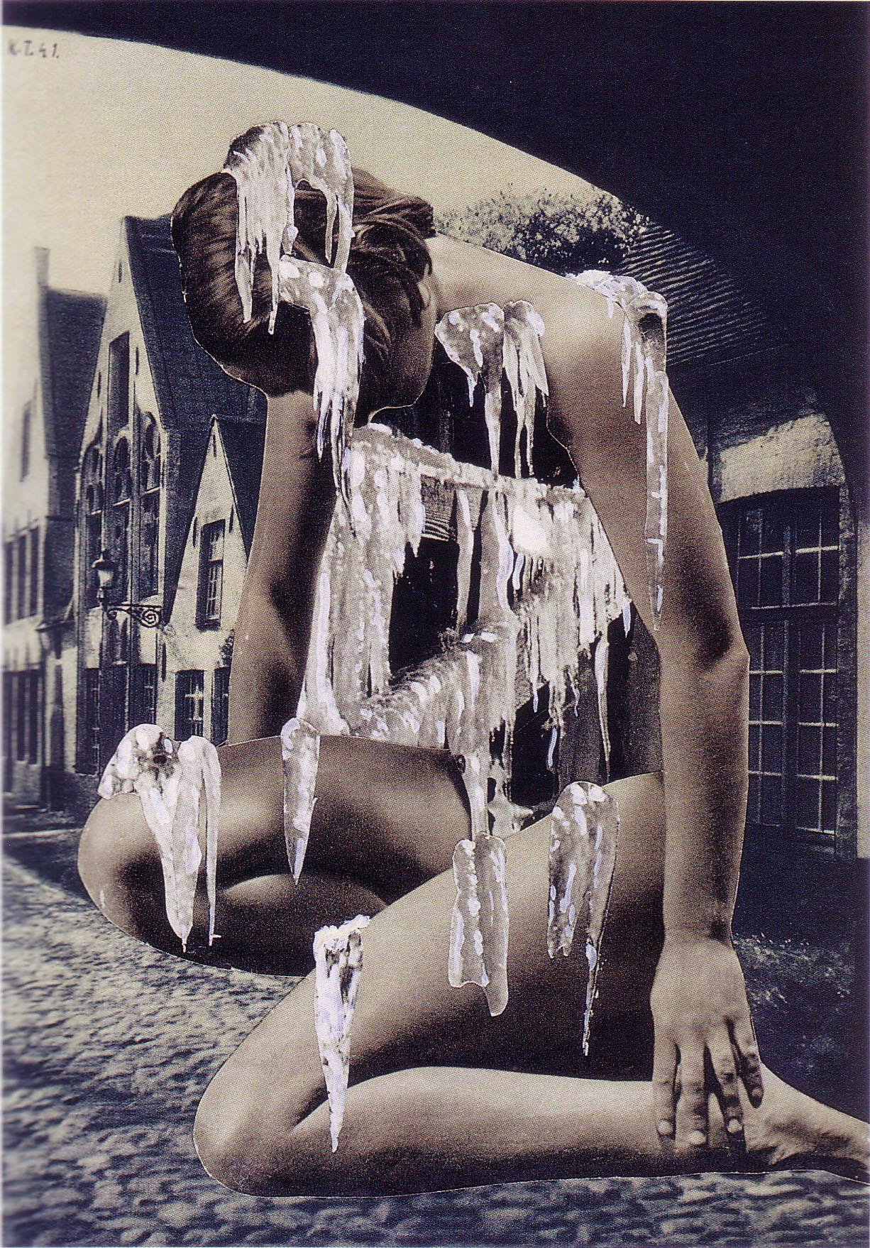 Karel Teige- Collage #188, 1941(c) Nachlass Karel Teige