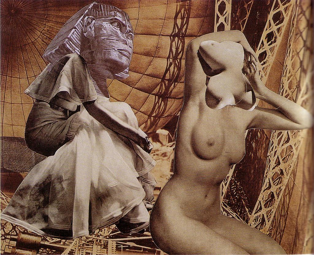 Karel Teige-Collage# 99, 1939 (c) Nachlass Karel Teige