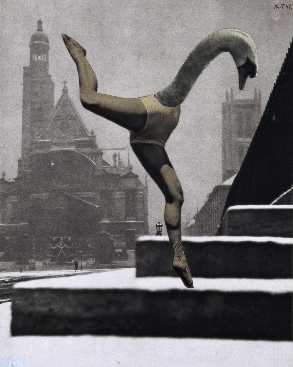 Karel Teige - Collage untitled, 1941