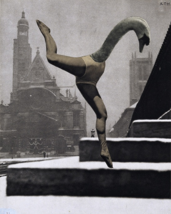 Karel Teige - Collage untitled, 1941