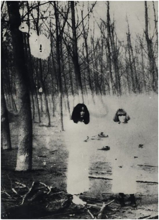 L'Heure Entre Chien et Loup, Women in The Woods Series by Deborah Turbeville  for Vogue Italia, 1977_ from the book of photographs, Past Imperfect (2)