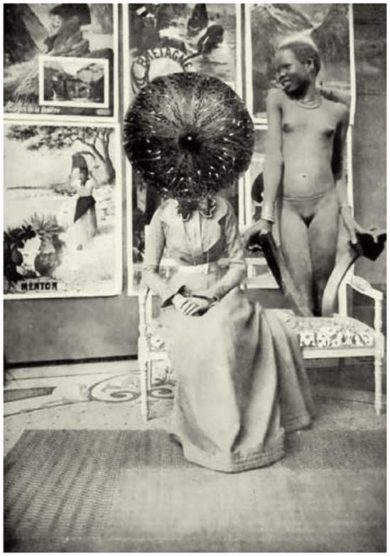 """René Char- Le Tombeau des secrets"""" Nimes, 1930, (Photompontage original de Paul Eluard et André Breton"""