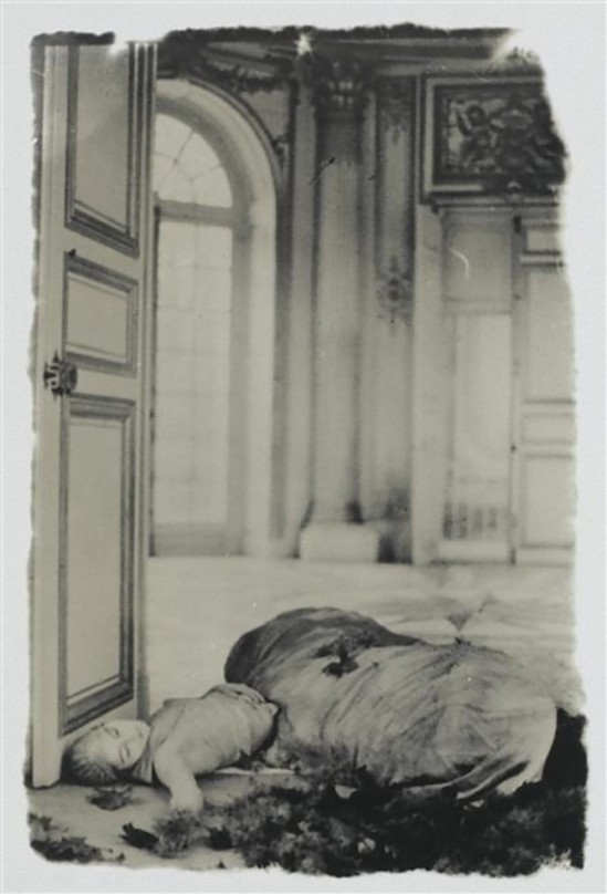 Deborah Turbeville-  Versailles  from past imperfect