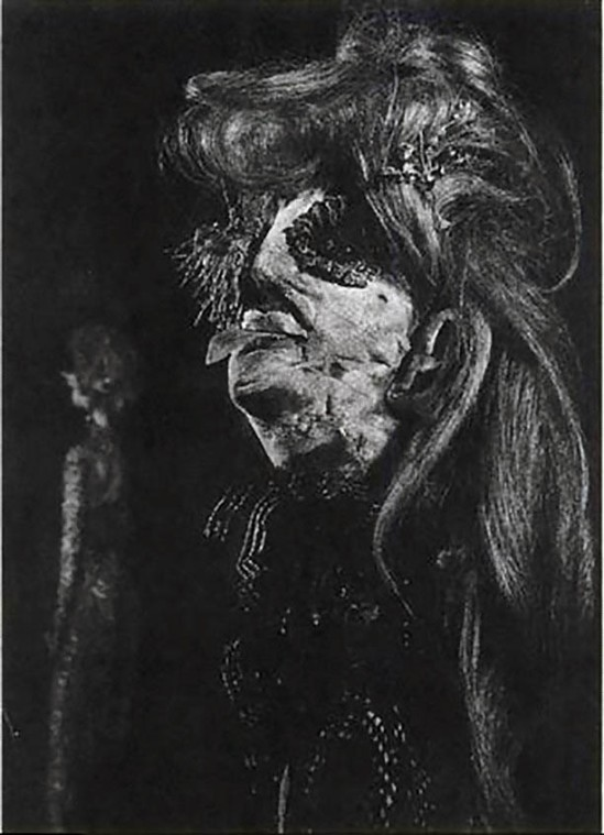 Anton Weber Junior poupée appelée the Celestine  Madame Edwarda Martha par Khun-Werber, galerie 13  exposition, 1973,