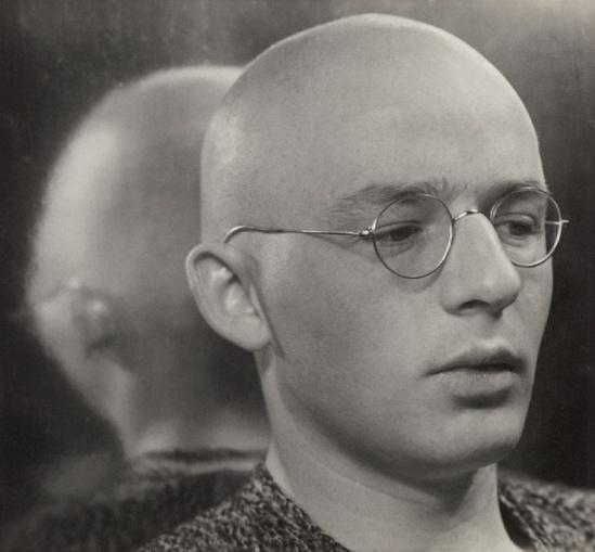 ringl+pit (Grete Stern and Ellen Auerbach) Portrait of Johannes Itten , ca 1930