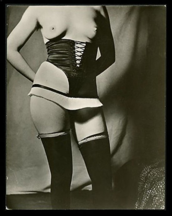DIANA SLIP Photo by BRASSAI Fetish LINGERIE 1930