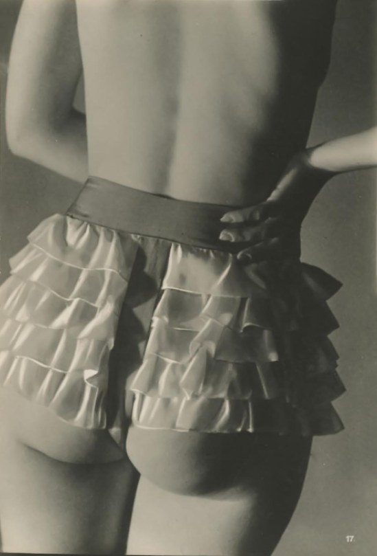 Jean Moral for Diana Slip Lingerie Catalogue, 1932