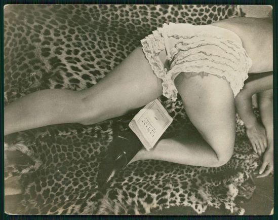 Jean Moral for the Diana Slip Co- 1930