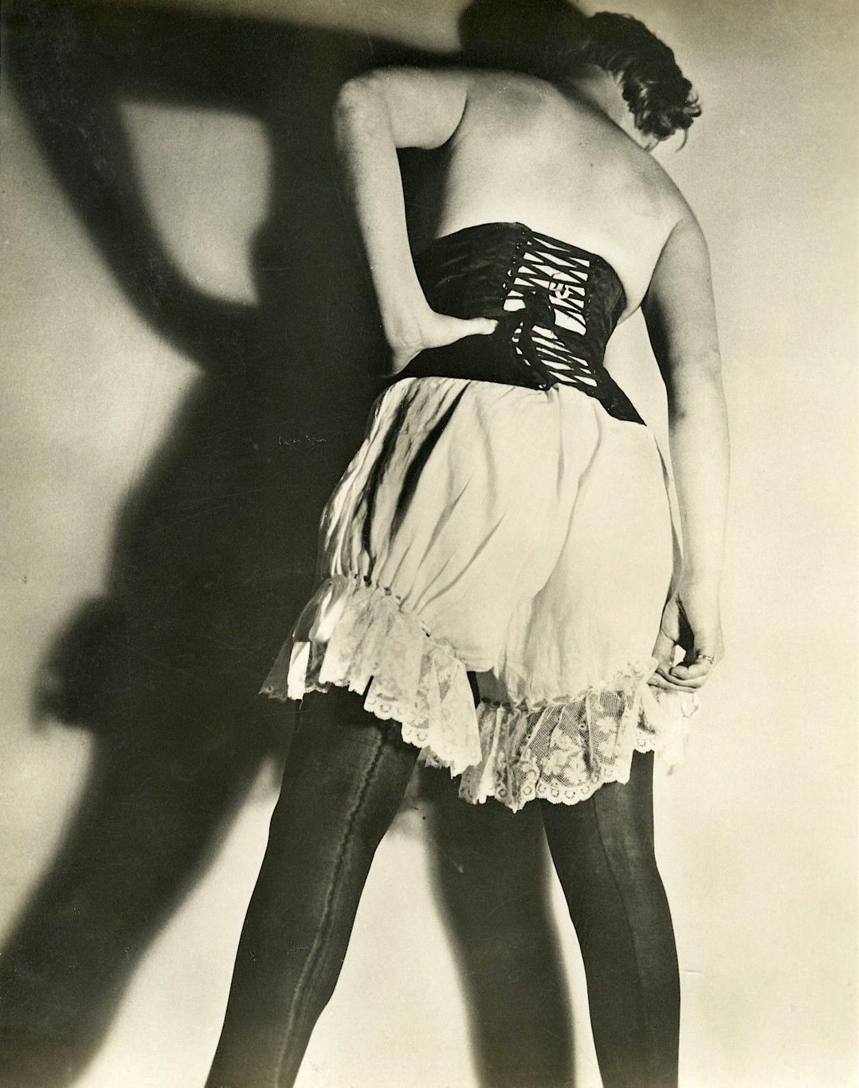 JEAN MORAL-FRENCH-DIANA-SLIP-FETISH-LINGERIE-c-1930