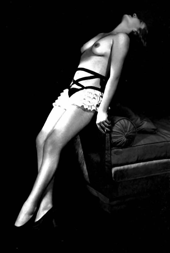 Jean Moral Model in 'Diana Slip' [fetish] underwear, 1930