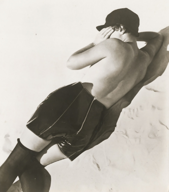Jean Moral - Nude Woman in a Leather Pantaloons,1930s