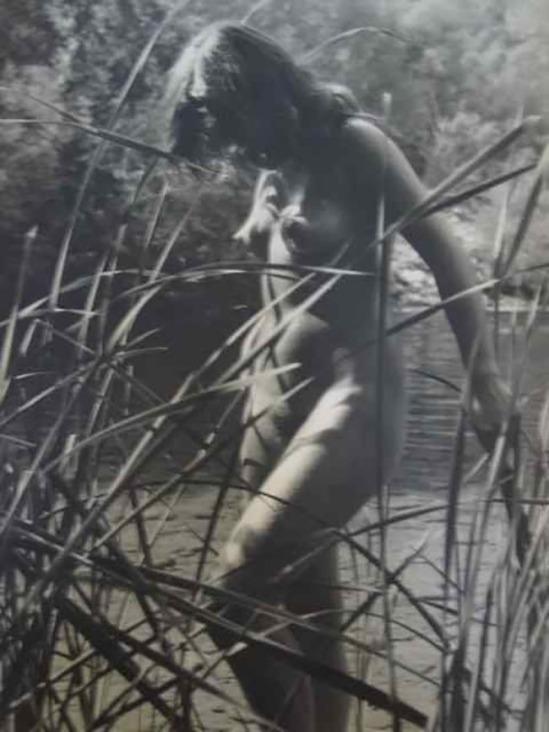 Quinto Albicocco - nude in the river , 1935-40 - Copie