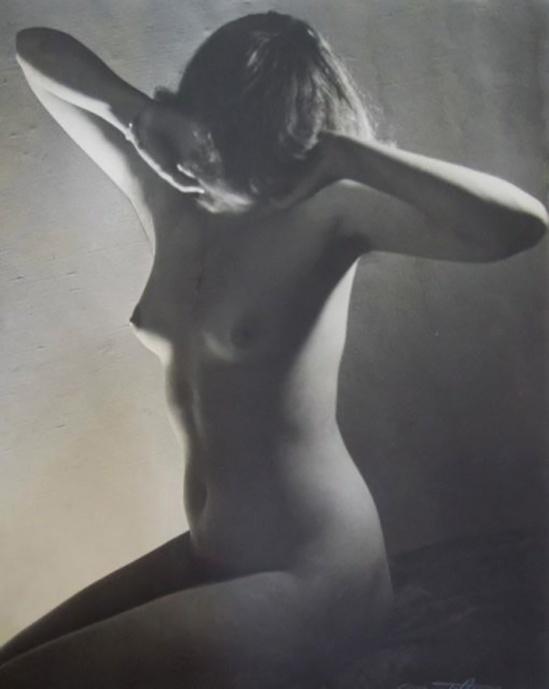 Quinto Albicocco - study of nude, 1935-40