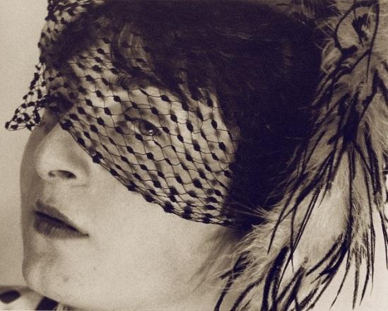 Ringl + Pit's - Pit with Veil (Ellen Auerbach), by Grete Stern , 1931
