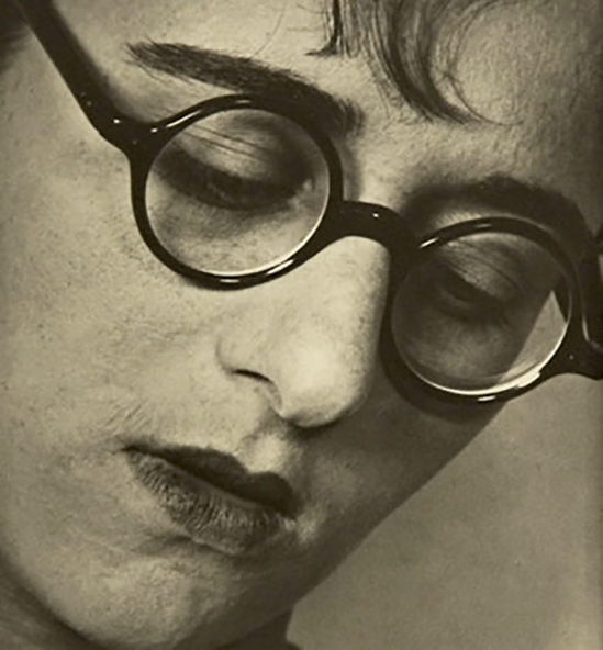 ringl+pit - Ringl with glasses (Grete Stern), by Ellen Auerbach,  1929