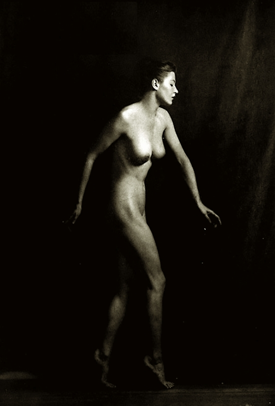 Alfred Cheney Johnston- Nude study , 1937from Enchanting Beauty, 1937p 44