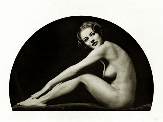 Alfred Cheney Johnston- Nude study , from Enchanting Beauty, 1937 p35