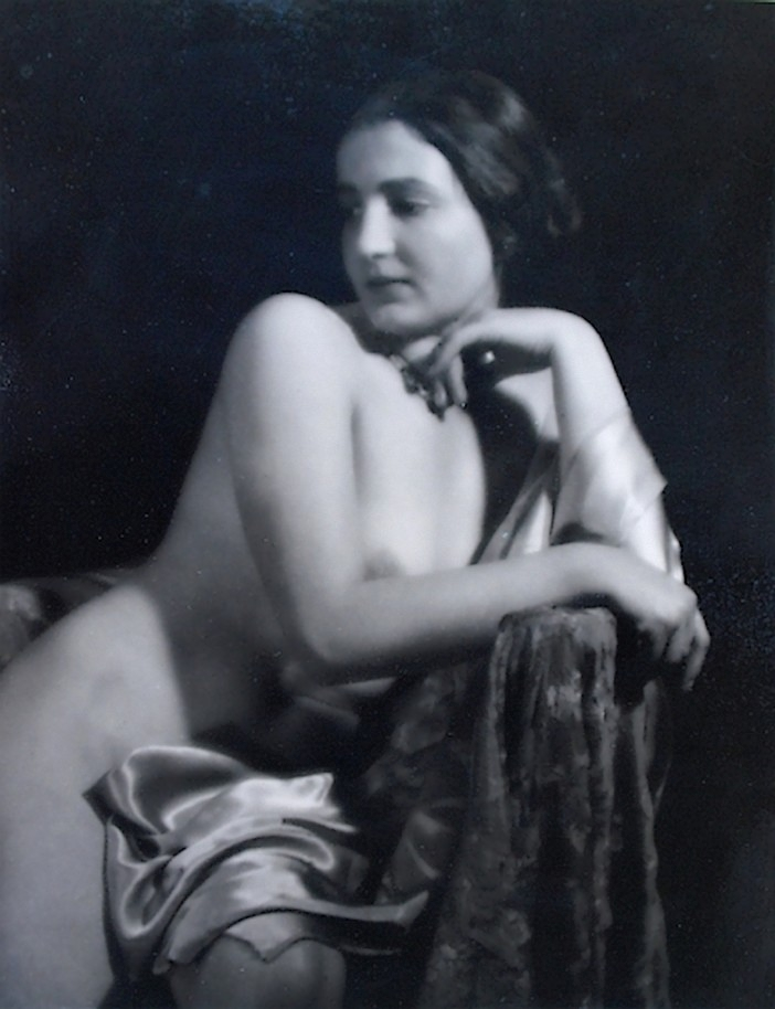 Alois Zych Bez názvu Akt , vers 1920s (2)
