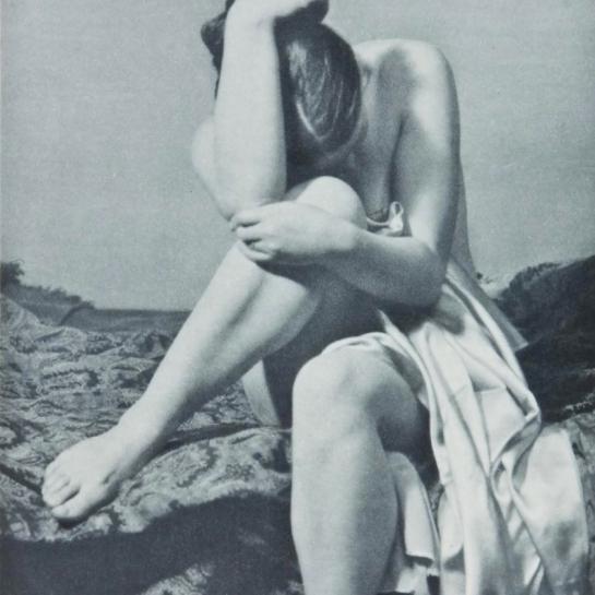 Alois Zych - study , Prague, 1933