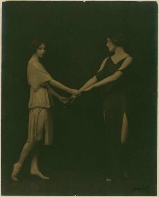 "Arnold Genthe. – The ""Isadorables,"" students of Isadora Duncan, 1916"