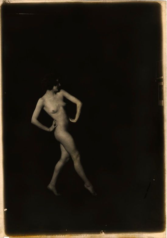 Arnold Genthe -  Nude in Transparency, 1920 Silver Nitrate Camera