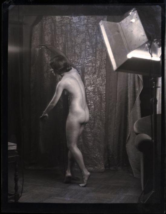 Arnold Genthe - nude Modern ballet  1929.