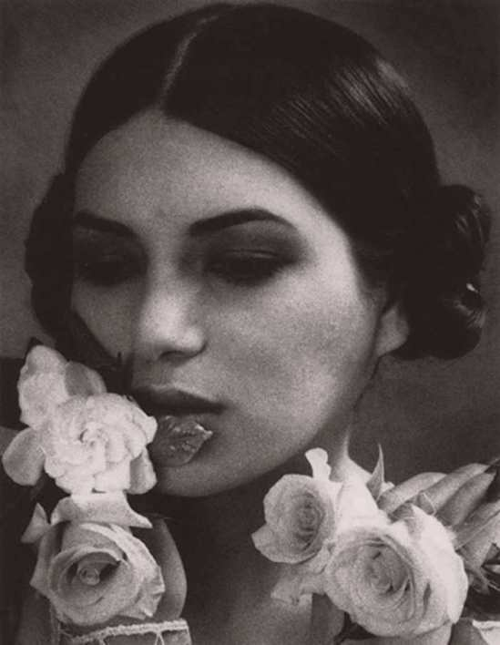 rett Hilder -Roses (Como Fue), 1996-2002. Toned silver gelatin print