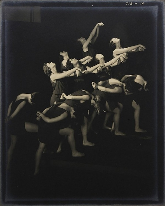 Edward Steichen- The Russian Pupils of Isadora Duncan - Reaching Upward , 1929