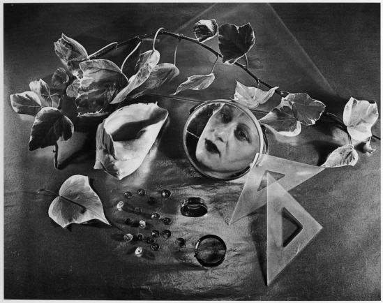 Grete Stern- Composition, self-portrait , 1943
