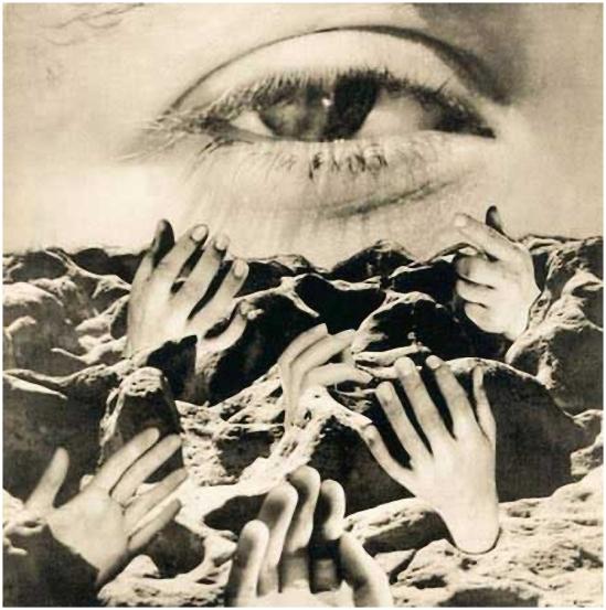 Grete Stern-. El ojo eterno, 1950