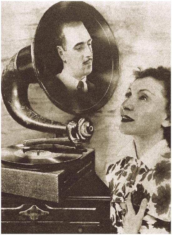 Grete Stern-Los sueños con actores en Idilio N º 117, 13 de febrero, 1951
