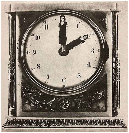 Grete Stern-Los sueños de relojes idilo n° 54, 29-11-1949