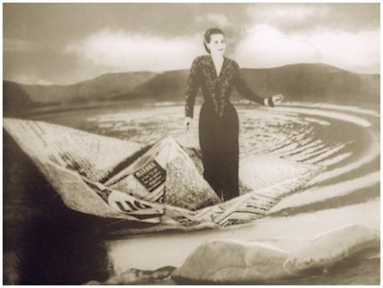 Grete Stern- Sueños  25, Barquinho de papel, Souenos com barcos Idílio no. 44, 1949