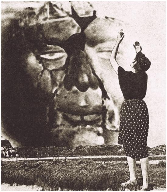 Grete Stern-Sueños de muerte y salvación en Idilio Nº48, 27-09, 1949