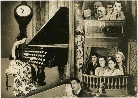Grete Stern- Sueños  Nº 18, Café Concert  1948