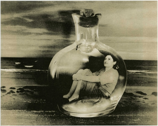 Grete Stern - Los Sueños  Nº 5 Bottle cast into the sea , 1949.1