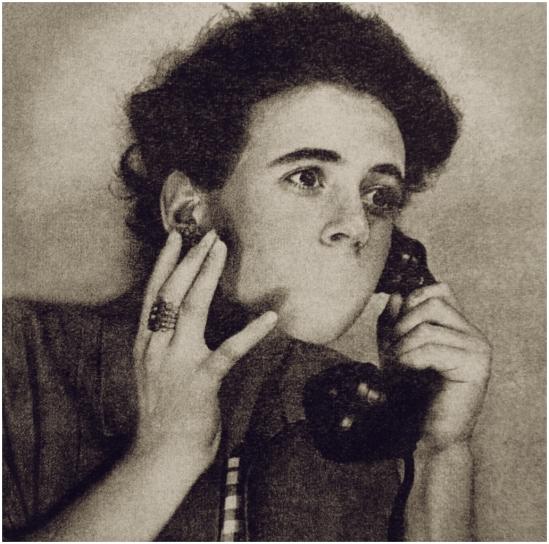 Grete Stern -Sueños  Nº 67 Idilio Los sueños de enmudecimiento, 1950