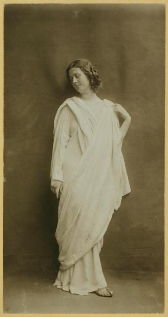Paul Berger- Isadora Duncan, 1908