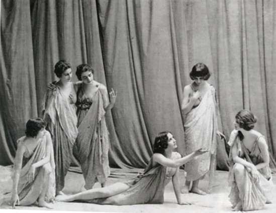 Studio Apeda- The Isadorables, students of Isadora Duncan, circa 1917